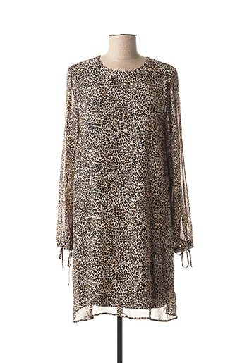 Robe courte beige MARELLA pour femme