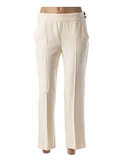 Pantalon 7/8 beige MARELLA pour femme