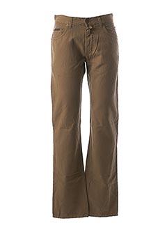 Pantalon casual marron GANT pour homme