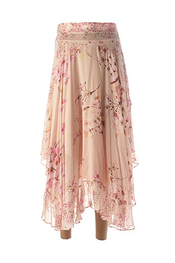 Jupe longue rose TWINSET pour femme