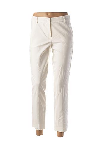 Pantalon 7/8 blanc MARELLA pour femme