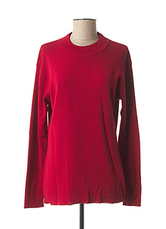 Pull col rond rouge YVES SAINTLAURENT pour femme