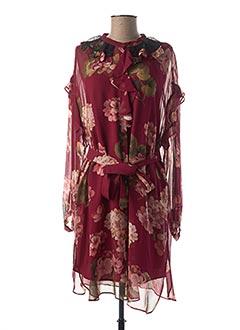 Tunique manches longues rouge TWINSET pour femme