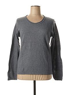 Pull col rond bleu GIANFRANCO FERRE pour femme