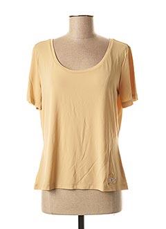 T-shirt manches courtes beige MAXMARA pour femme