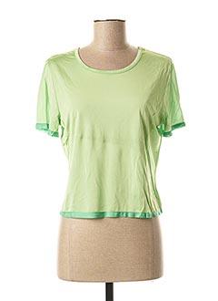 T-shirt manches courtes vert KENZO pour femme