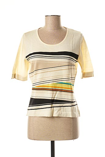 Pull col rond beige KENZO pour femme