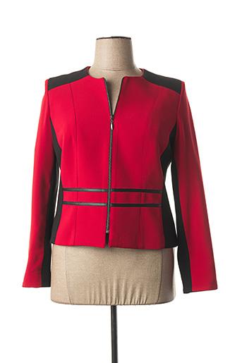 Veste chic / Blazer rouge ANNE KELLY pour femme
