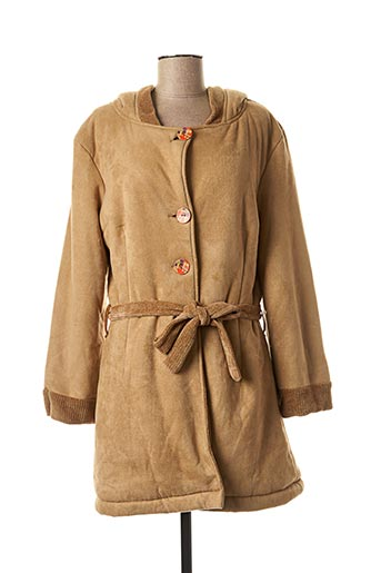Veste casual marron LO! LES FILLES pour femme