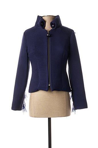 Veste chic / Blazer bleu LO! LES FILLES pour femme