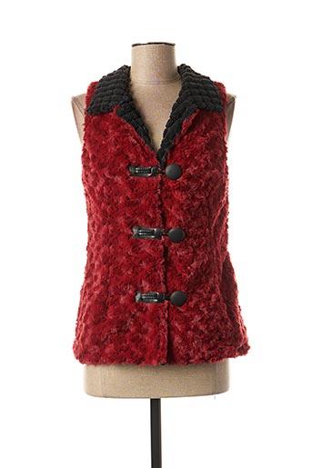 Veste chic / Blazer rouge LO! LES FILLES pour femme