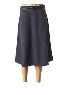 Jupe mi-longue bleu LO! LES FILLES pour femme