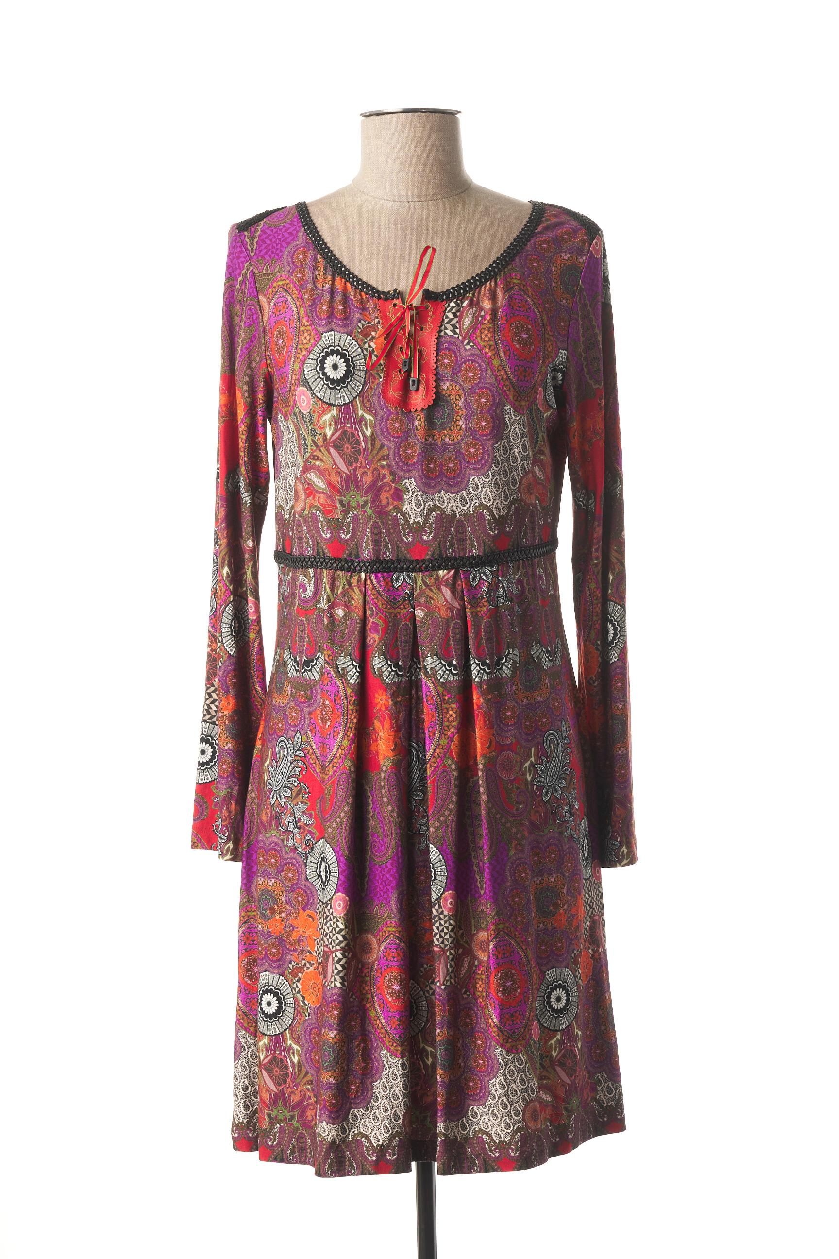 Robe courte femme Lo! Les Filles violet taille : 40 87 FR (FR)