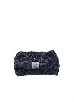 Bonnet bleu VL COLLECTION pour femme
