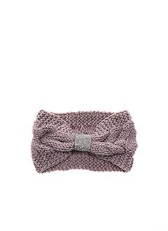 Bonnet violet VL COLLECTION pour femme