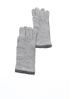 Gants gris VL COLLECTION pour femme