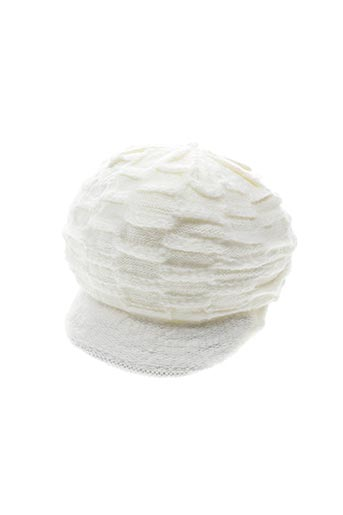 Bonnet blanc VL COLLECTION pour enfant