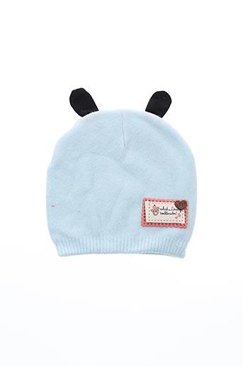 Bonnet bleu VL COLLECTION pour enfant
