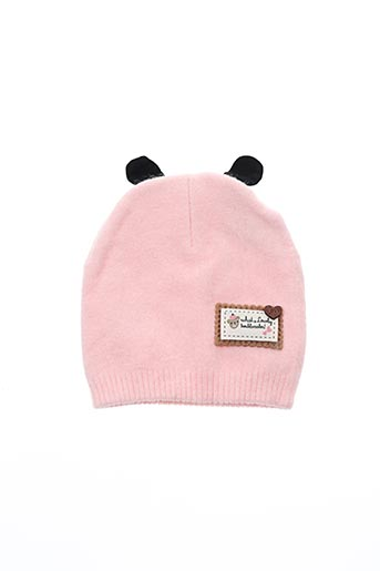 Bonnet rose VL COLLECTION pour enfant