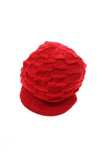 Bonnet rouge VL COLLECTION pour enfant