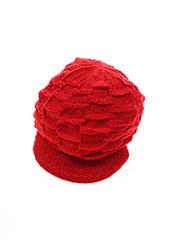 Bonnet rouge VL COLLECTION pour enfant seconde vue
