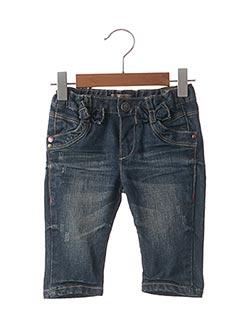Jeans coupe droite bleu JEAN BOURGET pour fille