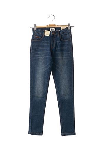 Jeans coupe slim bleu MAYORAL pour fille
