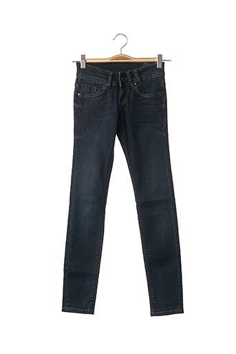Jeans coupe slim bleu TEDDY SMITH pour fille