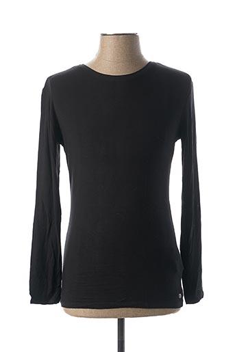 T-shirt manches longues noir GARCIA pour enfant