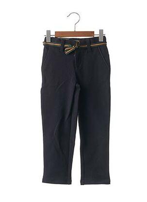 Pantalon casual bleu JEAN BOURGET pour fille