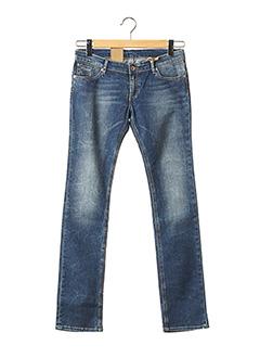 Jeans coupe slim bleu KAPORAL pour fille