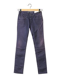 Pantalon casual violet PEPE JEANS pour fille