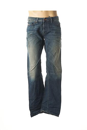 Jeans coupe droite bleu DIESEL pour homme