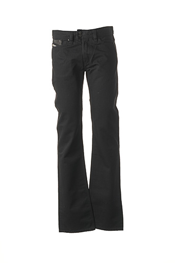 Jeans coupe droite noir DIESEL pour homme