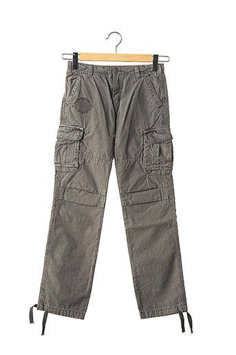 Pantalon casual gris LE TEMPS DES CERISES pour garçon