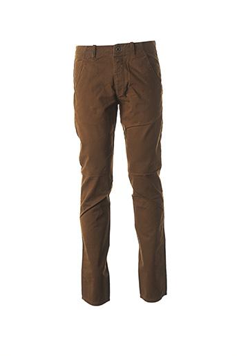 Pantalon casual marron FREESOUL pour homme