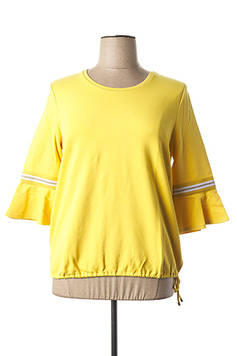 Sweat-shirt jaune BETTY BARCLAY pour femme