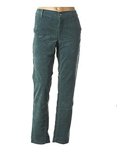 Pantalon casual vert HAPPY pour femme
