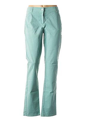 Pantalon casual vert VOODOO pour femme