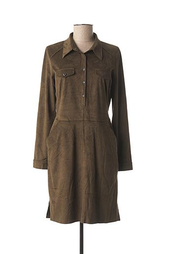 Robe courte vert VOODOO pour femme