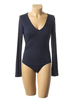 Body bleu PAKO LITTO pour femme