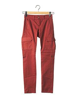 Pantalon casual marron HAPPY pour femme