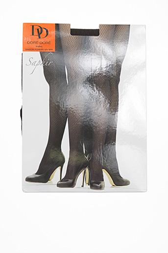Collants gris DORE DORE pour femme