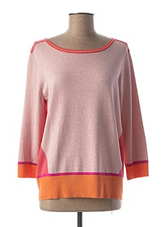 Pull col bateau rose BETTY BARCLAY pour femme
