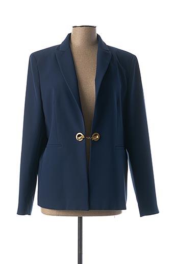 Veste chic / Blazer bleu CRISTINA BARROS pour femme