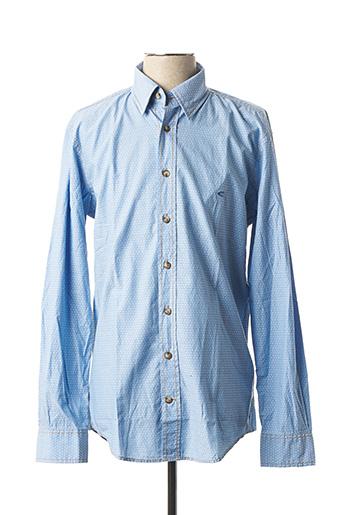 Chemise manches longues bleu CAMEL ACTIVE pour homme