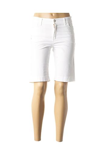 Bermuda blanc COWEST pour femme