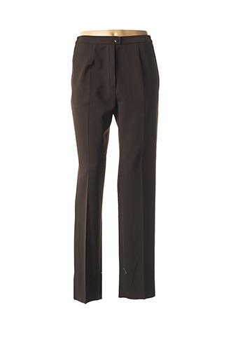 Pantalon casual marron KARTING pour femme