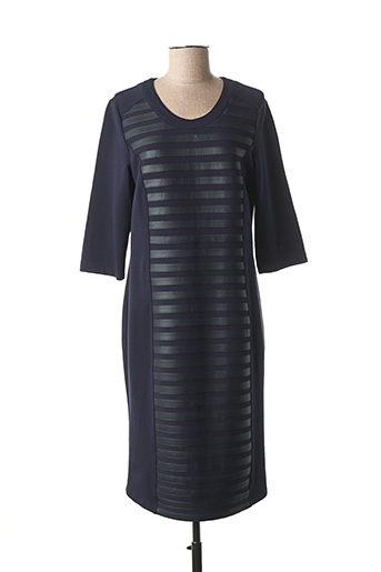 Robe mi-longue bleu RABE pour femme