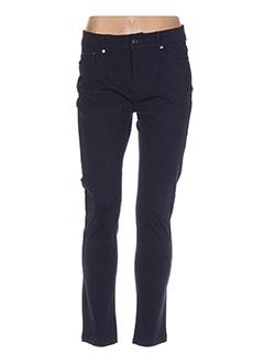 Pantalon casual bleu DOLCE & ROSA pour femme